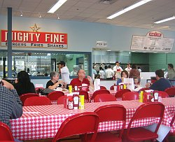 Mighty Fine Burgers, Fries, Shakes Review Austin, TX