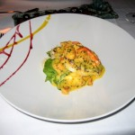 Roasted Chilean Sea Bass with Maine Lobster