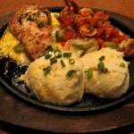 Photo of Sizzling Chicken & Shrimp at T.G.I. Friday's in Austin, TX