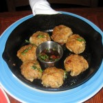 Photo of Cast-Iron Skillet Dumplings Appetizer at Z'Tejas in Austin, TX
