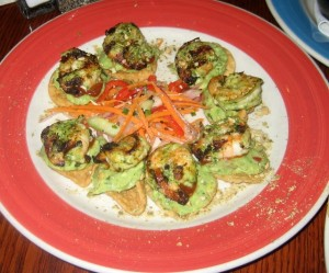 Photo of Grilled Shrimp Appetizer at Z'Tejas in Austin, TX