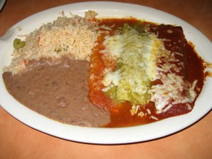 Photo of Enchilada Trios at Elsi's Restaurant in Austin, TX