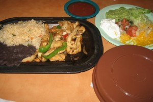 Photo of Fajita Dinner at Elsi's Restaurant in Austin, TX