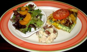 Photo of Quiche & Salad Sampler at Marie Callender's in Austin, TX