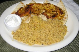Photo of Chicken Souvlaki at Zakia's Greek Cuisine in Austin, TX