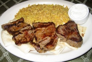 Photo of Beef Souvlaki at Zakia's Greek Cuisine in Austin, TX