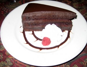"""Devastatingly Dark"" Chocolate Sacher Torte"