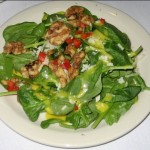 Photo of Baby Spinach Salad at Cafe Josie in Austin, TX