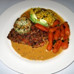 Photo of Tortilla Crusted Salmon at Gumbo's