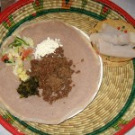 Photo of Kitfo at Taste of Ethiopia in Austin/Pflugerville, TX
