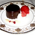 Photo of Chocolate Raspberry Gateau at Driskill Grill in Austin, TX