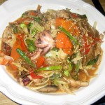 Photo of Seafood Chap Chae at Korea House in Austin, TX