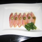 Photo of Yellowtail Sashimi at Tomo Dachi in Austin, TX