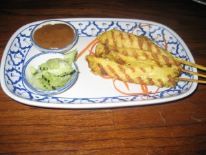 Photo of Satay at Thamnak Thai in Cedar Park, TX