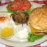 Photo of Cheeseburger at Artz Rib House in Austin, TX
