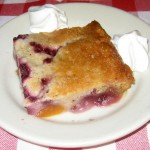 Photo of Raspberry Peach Cobbler at Artz Rib House in Austin, TX
