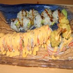 Photo of Baby Dragon Roll and Red Devil Roll at Sushi Nini in Round Rock, TX