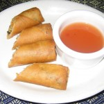 Photo of Crispy Egg Rolls at Titaya's in Austin, TX