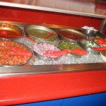 Photo of salsa bar at Zuzu in Austin, TX