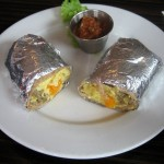Photo of Galaxy Breakfast Wrap at Galaxy Cafe in Austin, TX