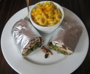 Photo of Grilled Chicken Wrap at Galaxy Cafe in Austin, TX