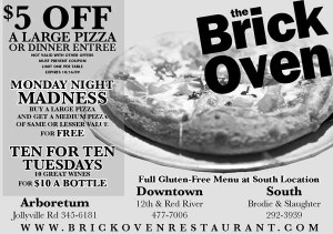 Brick Oven Coupon