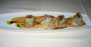 Photo of Tenderloin & Wild Mushroom Asian Dumplings at Roy's in Austin, TX