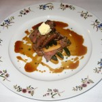 Photo of Mille-Feuille of Beef Tenderloin at Aquarelle in Austin, TX