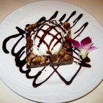 Photo of Chocolate Brownie at Fogo De Chao in Austin, TX