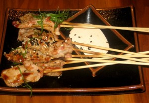 Photo of Thai Style Ginger-Citrus Marinated Pork Satays at Jasper's in Austin, TX