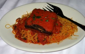 Photo of Eggplant Parmesean at Maggiano's in Austin, TX