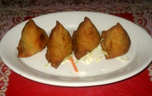Photo of Vegetable Samosas at Chola in Round Rock, TX