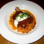 Photo of Braised Lamb Shank with Romesco at Fino in Austin, TX
