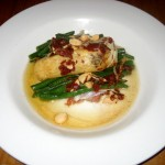 Photo of Pan Roasted Sea Bass at Fino in Austin, TX