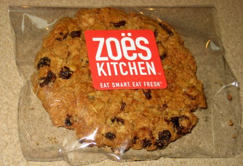 photo of oatmeal cookie at zoes kitchen in austin tx - Zoes Kitchen Austin