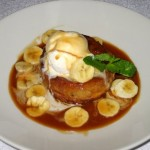 Photo of Banana Foster Bread Pudding at Mama Roux in Austin, TX