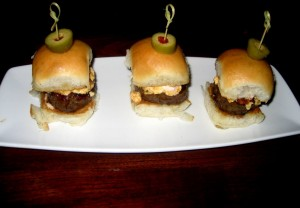 Photo of Kobe Beef Burgers at Truluck's in Austin, TX