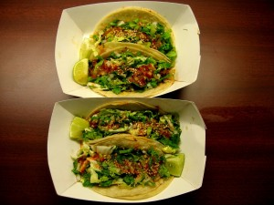 Photo of Tacos at Chi'Lantro Food Trailer in Austin, TX