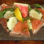 Photo of Smoked Salmon Tartine at Blue Dahlia in Austin, TX