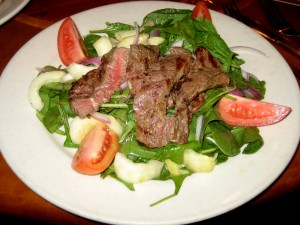 Photo of Sirloin Salad at North By Northwest in Austin, TX
