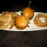 Photo of Niman Ranch Beef Burger Duo at Gold Class Cinemas in Austin, TX