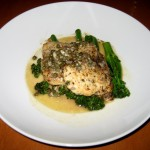 Photo of Pan Roasted Chicken Piccata at Cru in Austin, TX