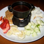 Photo of Chocolate Fondue at Cru in Austin, TX