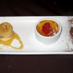 Photo of Dessert Trio at Perry's in Austin, TX