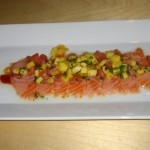 Salmon Ceviche at Piranha Killer Sushi in Austin, TX