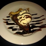 Photo of Fudge Brownie Pie at Austin Land & Cattle in Austin, TX