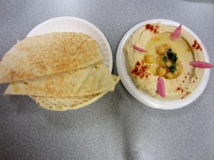 Photo of Hummus at Sarah's Mediterranean in Austin, TX