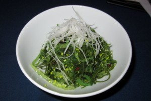 Seaweed Salad at Afin in Austin, TX