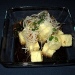 Agedashi Tofu at Afin in Austin, TX