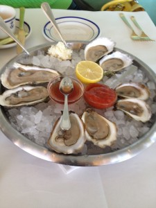 Clark's Oyster Bar - Dish 1 (Oysters)